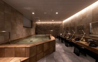 写真:最上階大浴場