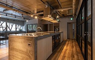 写真:キッチンスペース